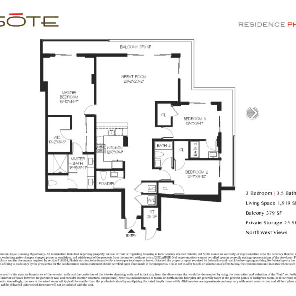PH 01 Floor Plan